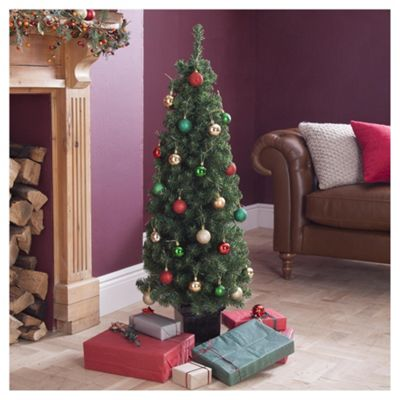 Buy Topiary 4ft Christmas Tree, Tesco from our Christmas Trees ...