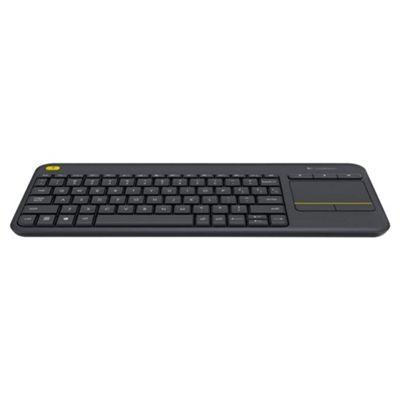 Logitech K400 Wireless Touch Keyboard - Black