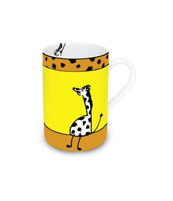 Könitz Animal Stories - Giraffe Mug (Set of 4)
