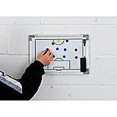 Precision Double-Sided Soccer Tactics Board 30x45cm