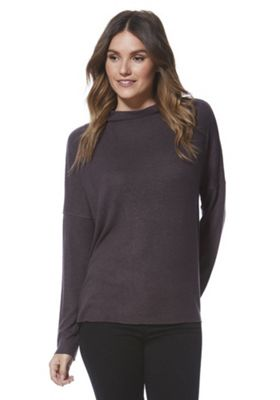 Only Soft Touch High Neck Jumper M Grey