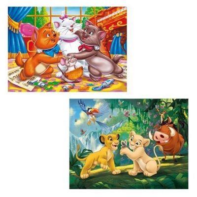 Disney Animal Friends 2 x 20 Piece Puzzle