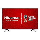 "HISENSE-HN5700UK "" LED HDR 4K Ultra HD Smart TV with Freeview HD - Grey"