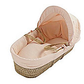 Kinder Valley Palm Moses Basket (Waffle Apricot)