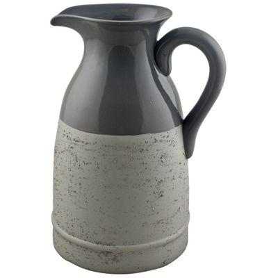 Half & Half Ceramic Milk Jug