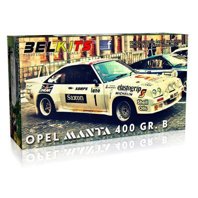 BELKITS Opel Manta 400 GR.B Jimmy McCrae 1:24 Car Model Kit
