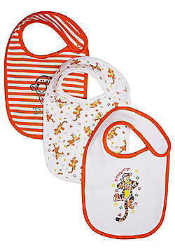 Disney 3 Pack of Tigger Feeder Bibs