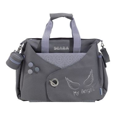 Beaba Urban Los Angeles Changing Bag Grey/Light Lilac