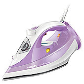 Philips GC3809/30 Azur Performer Steam Iron - Purple & White