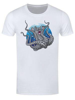 Catopuss Men's T-shirt White
