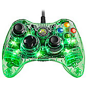 Green Afterglow Xbox 360 Controller