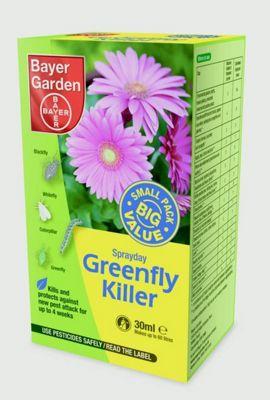 Bayer Greenfly Killer - Kills Greenflies Blackfly and other Pests - 30ml