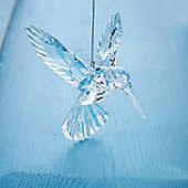 Clear Humming Bird Christmas Tree Decoration