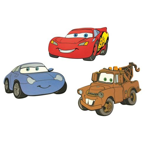 Disney Cars Foam Elements 3pcs DF23663
