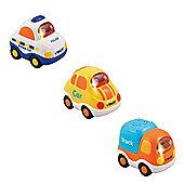 Vtech Toot Toot Bundle - Truck - Police Car - Yellow Car