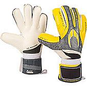 Ho One Flat Protek Goalkeeper Gloves Size - Yellow