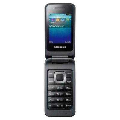Tesco Mobile Samsung C3520 Charcoal Grey