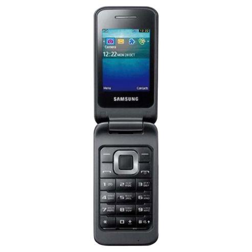 Tesco Mobile Samsung C3520 Charcoal Grey