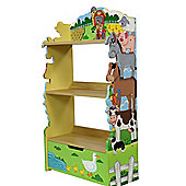 Fantasy Fields by Teamson Happy Farm Animals Bookshelf