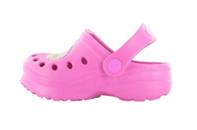 Girls Paw Patrol Fuchsia Slip On Beach Sandals Clogs Mules UK Child Size 5