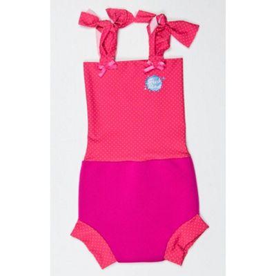 Splash About Happy Nappy Costume Small (Pink Mango Dot)