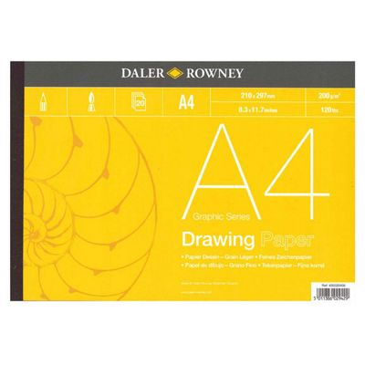 Daler Rowney Drawing Paper A4