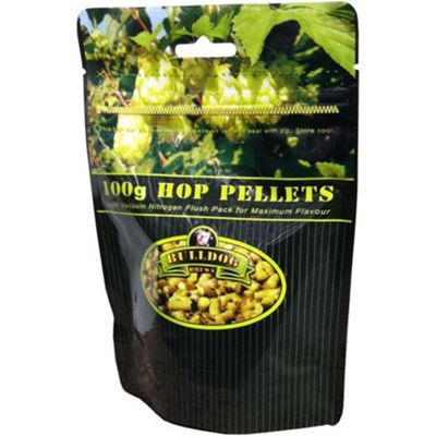 Bulldog 100g Hop Pellets - East Kent Goldings