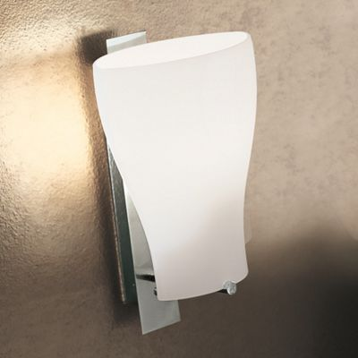 De Majo Bell Wall Lamp in Stained White