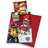 Paw Patrol No Pup Too Small Cotton Single Duvet Cover Set