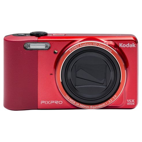 Kodak Pix Pro FZ151 Digital Camera, Red, 16MP, 15x Optical Zoom 3