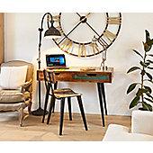 Coastal Chic Wooden Laptop Desk / Dressing Table - Baumhaus