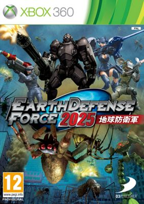 Earth Defence Force 2025 Xbox 360