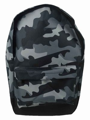 Grey Camouflage Backpack