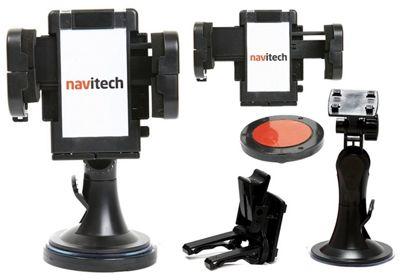 Navitech Windscreen Holder Mount for Samsung Galaxy Note 8 / S8 Plus