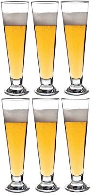 Palladio Beer Glasses - Box of 6 - 300ml (10.5oz)