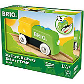 BRIO 33705 My First Railway - Battery Train for Wooden Train Set