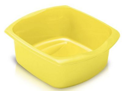 Addis Large 9.5L Yellow Rectangular Bowl