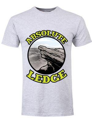 Absolute Ledge Grey Men's T-shirt