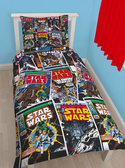 Star Wars Issues Single Duvet Cover and Pillowcase Set