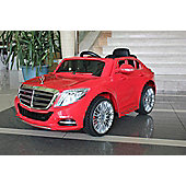 Licensed Mercedes Benz S Class Ride On Car - Kids Electric Car - 12v Red