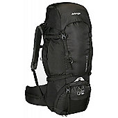 Vango - Contour 50+10S Trekking Walking and Hiking Rucksack Shadow Black