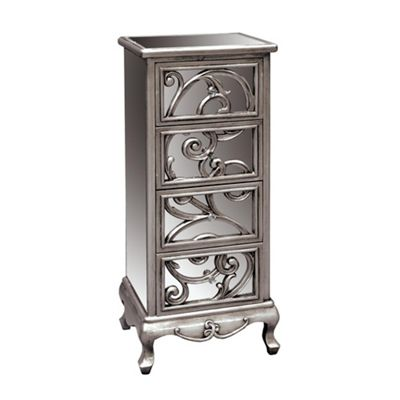 Silver Vine 4 Height Chest