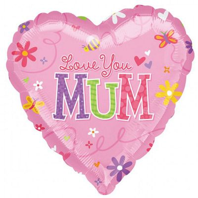 Mothers Day Foil Balloon - 18 inch Foil