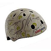 Kiddimoto Helmet - Fossil Dinosaur - Medium