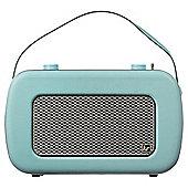 Kitsound Jive Retro DAB Radio Duck Egg Blue