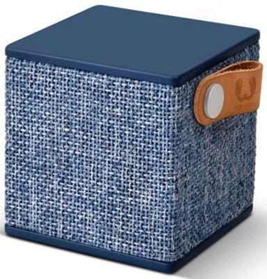 Fresh n Rebel Indigo Rockbox Cube Fabriq Bluetooth Speaker