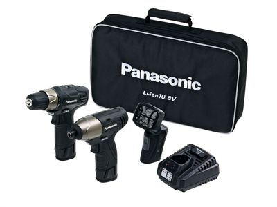 Panasonic EY C110LA 2L 3 Piece Kit 10.8 Volt 2 x 1.5Ah Li-Ion
