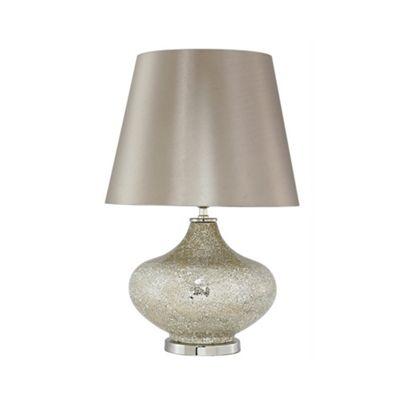 Mercury Sparkle Mosaic Ellipse Statement Lamp