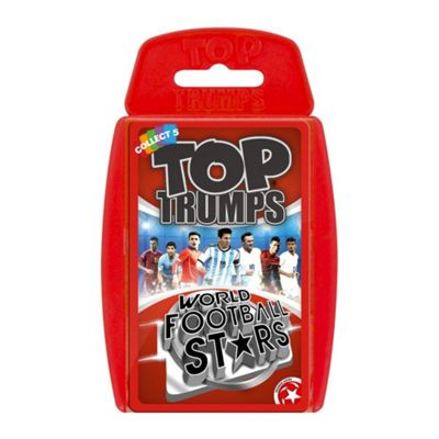 Top Trumps - World Football Stars (Red 2016 Version)
