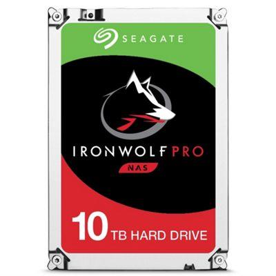 10TB Seagate IronWolf Pro NAS Hard Drive 3.5 SATA III 6GBs 7200RPM 256MB Cache